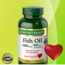 nature's bounty FIsh Oil 鱼油